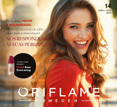 Catálogo 14 de 2012 da Oriflame