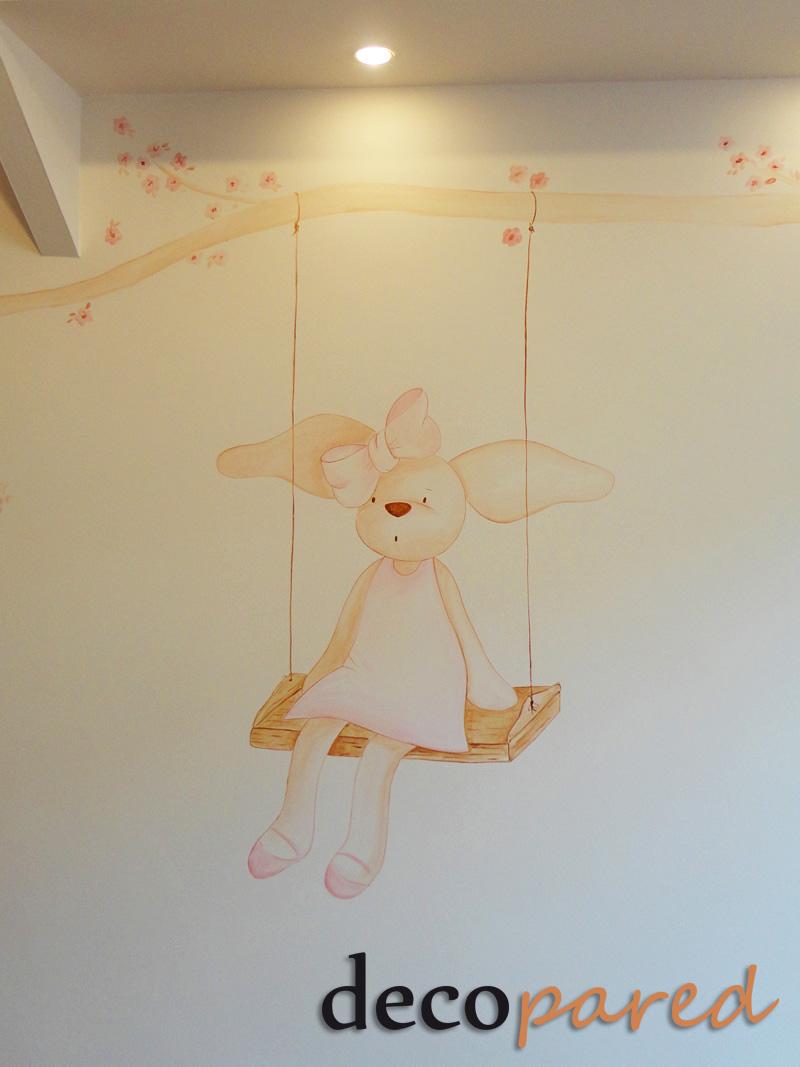 Decopared murales infantiles decorativos for Murales de tela para pared