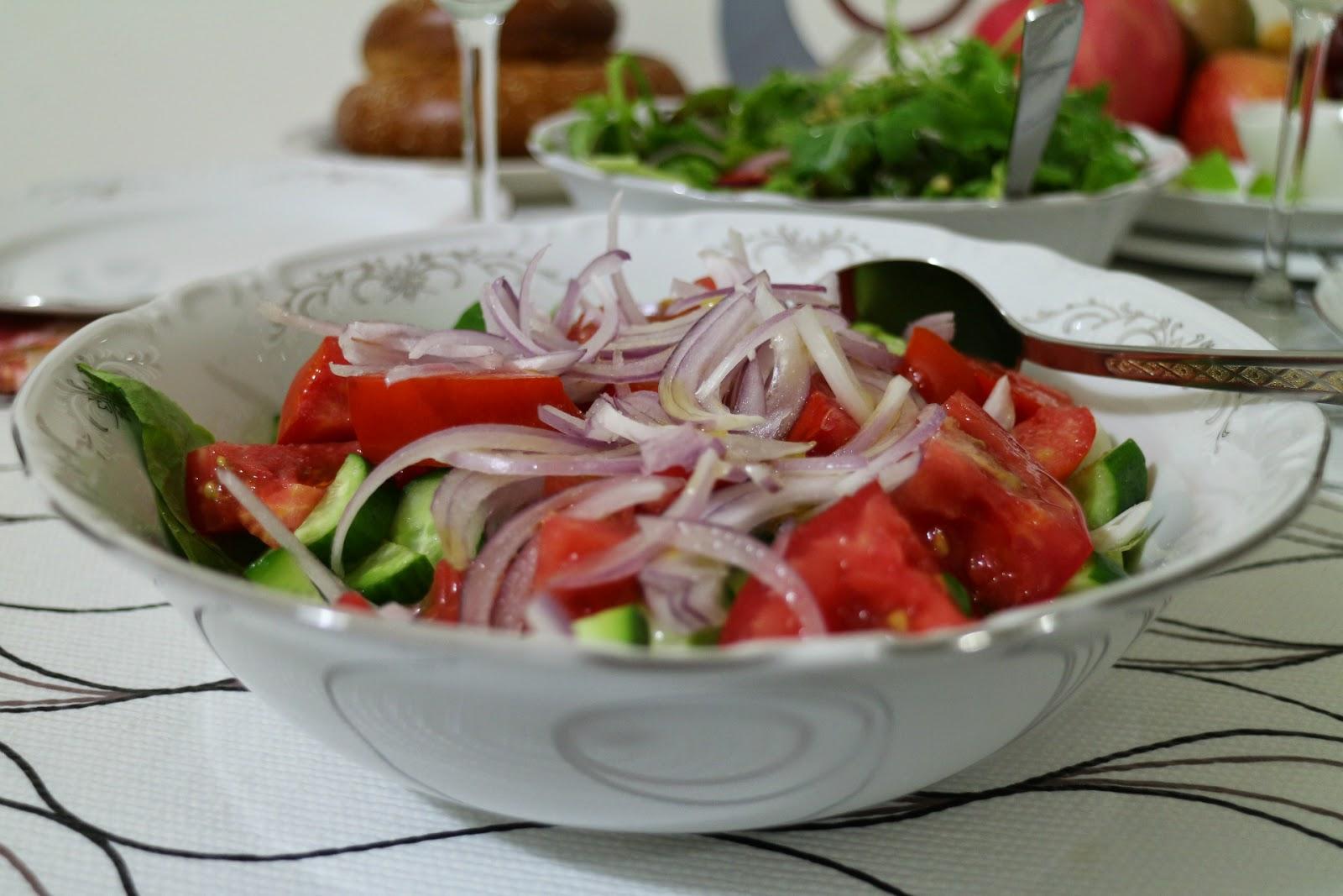 Самые простые и доступные салаты