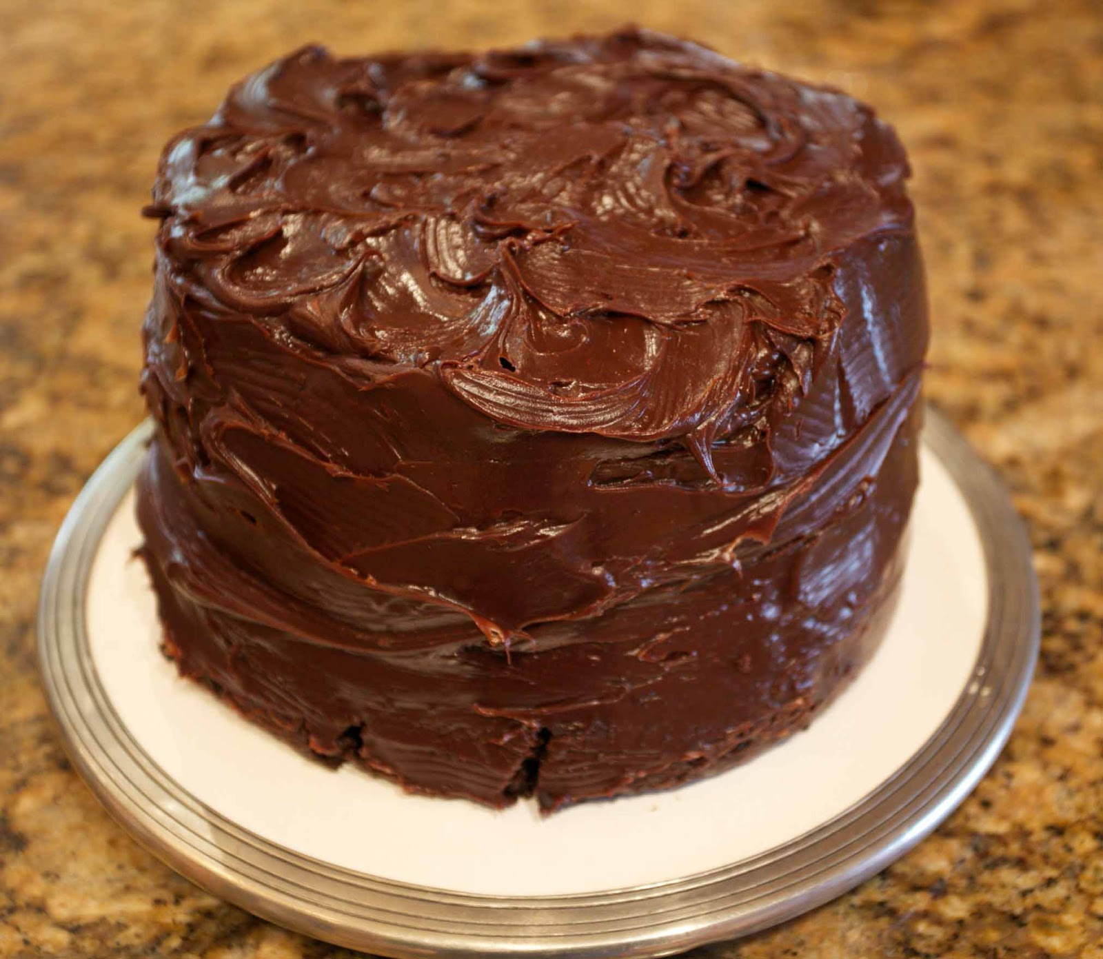 Octoberfarm: The Best Double Chocolate Cake