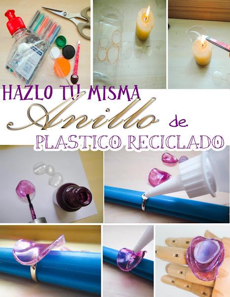 diy-anillo-plastico-reciclado-finger-ring-pet- el tocador de Cenicienta blog