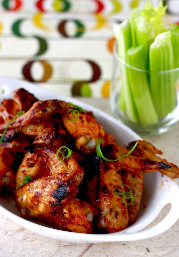 Sweet & Spicy Chicken Wings by SeasonWithSpice.com