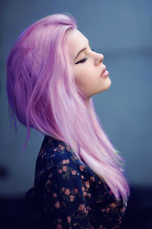 Girls With Light Purple Hair Tumblr Pastel Candy La...