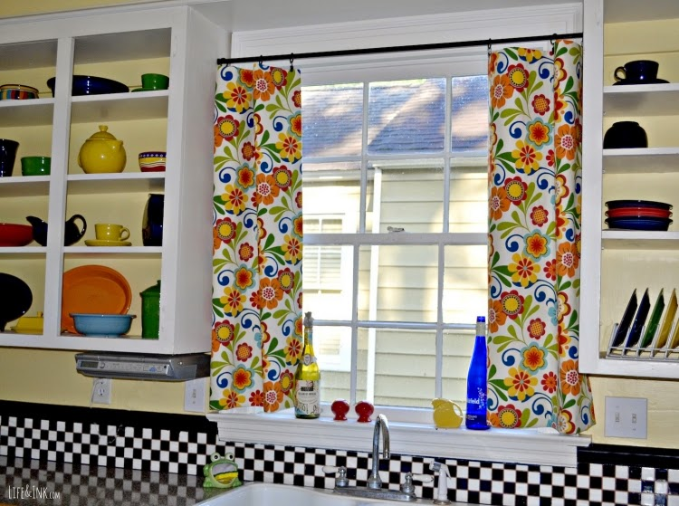 Colorful Kitchen Curtains 15 Elegant Kitchen Window Curtains For Window Decoration
