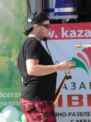 Музыкант Российского рогового оркестра