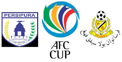 Pahang Vs Persipura Jayapura AFC Cup 2015