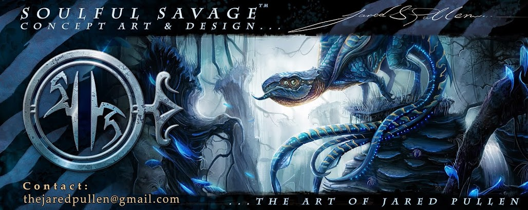 The Art Of Jared Pullen, Soulful Savage