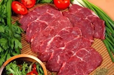 Comer carne roja 2 veces al mes