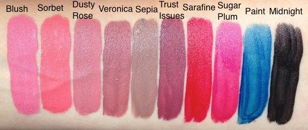 ผลการค้นหารูปภาพสำหรับ anastasia liquid lipstick dusty rose