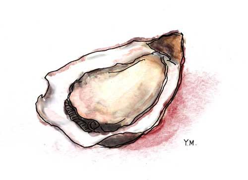 Oyster by Yukié Matsushita