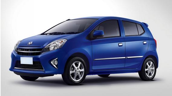 List Daftar Harga Mobil Toyota Agya Terbaru 2014