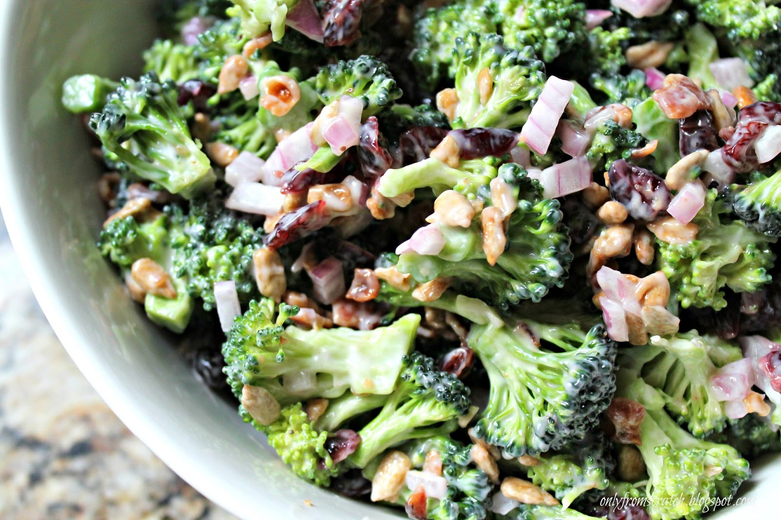 broccoli salad 1 head broccoli or about 5 broccoli crowns
