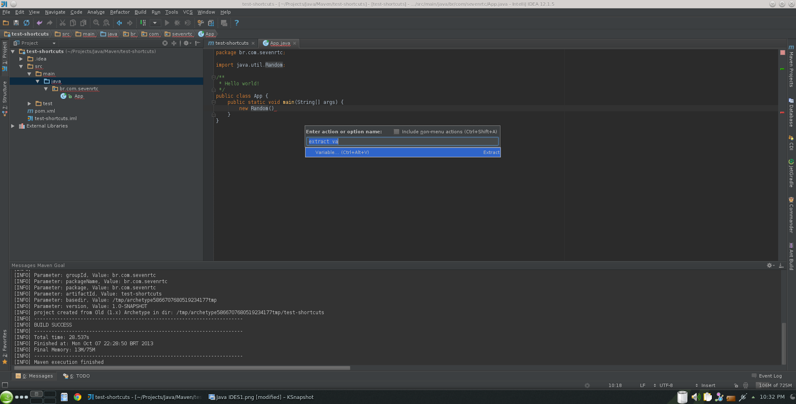 Detalhes do feed ctrlshifta makes intellij pop up a contextual menu right in the middle of your code easy fast and to the point ccuart Choice Image