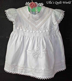 Girl&#39;s Trapunto dress - Quilting