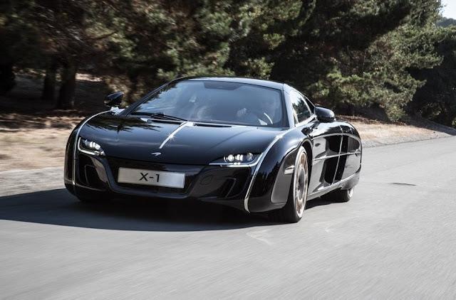 Car Pictures Unique: McLaren X-1 Concept (2012)