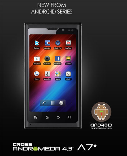 Cross Andromeda A7 Star