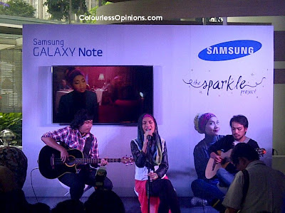 Samsung Galaxy Note Sparkle Project Yuna