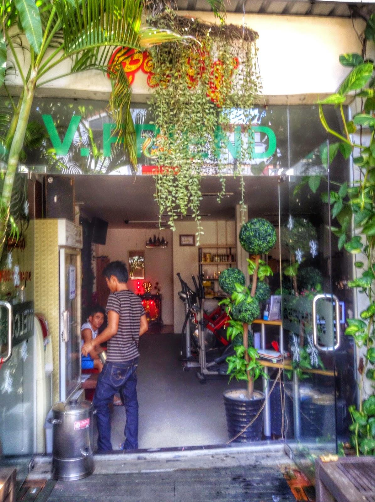 Gym in Phnom Penh, Cambodia - V-Friend Gym