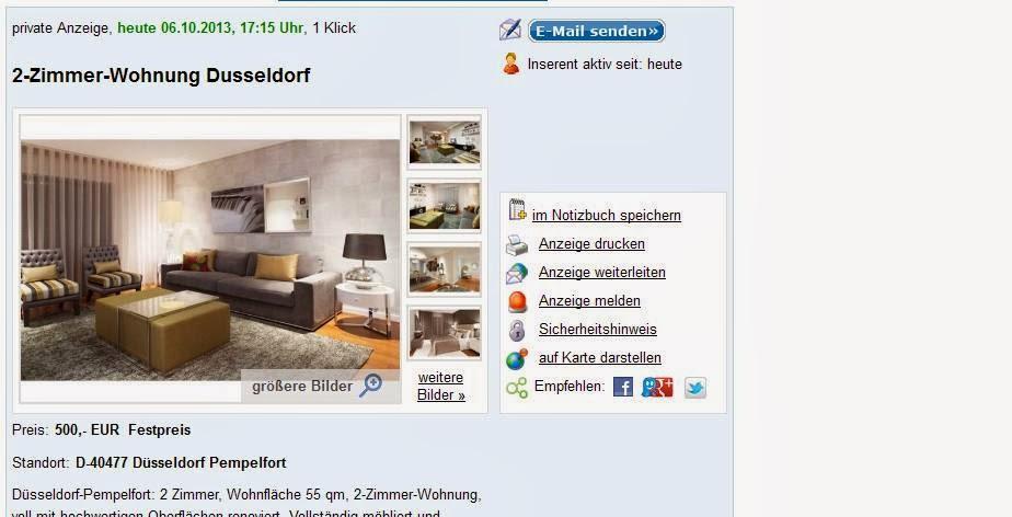 Zimmer Wohnung Dusseldorf