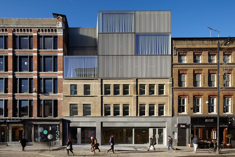 A f a s i a duggan morris architects for Household design curtain road