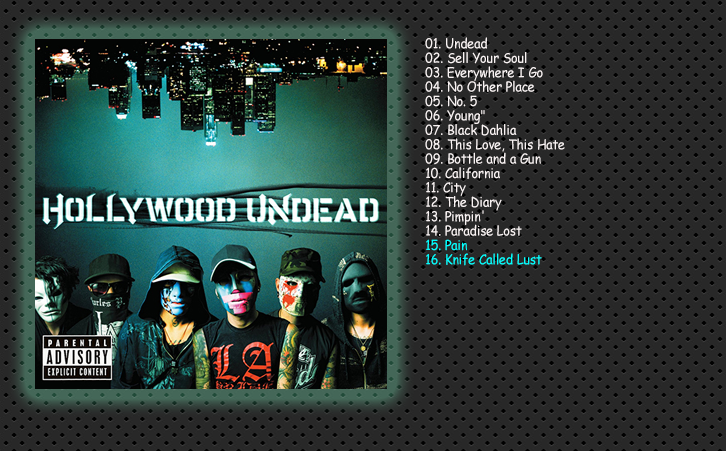 Hollywood Undead - Discografia [Alternative Rock - Rapcore]