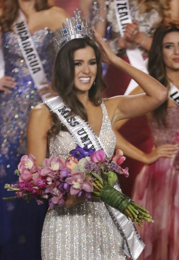 A colombiana Paulina Vega conquistou, a 63ª edição do concurso Miss Universo