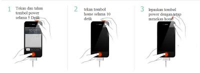 proses bypass iCloud Locked pada iphone 4