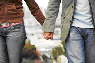 Intimate Relationships - holding hands
