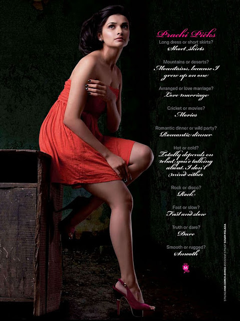 Prachi Desai Hot and latest Pics from Maxim Magazine
