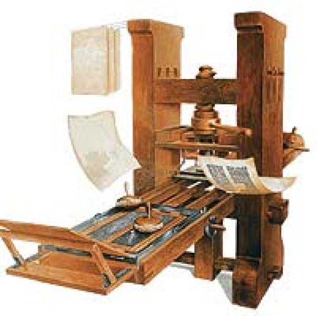 inventos la imprenta