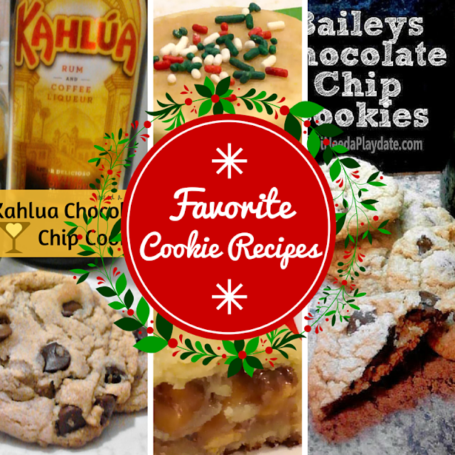 3 of My Favorite Boozy Holiday Cookie Recipes