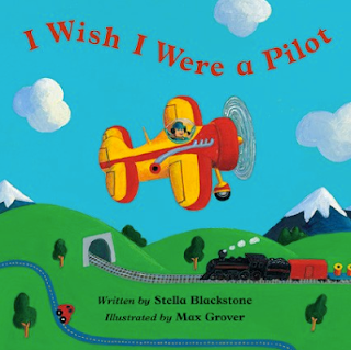 Barefoot Books Board Book about a pilot