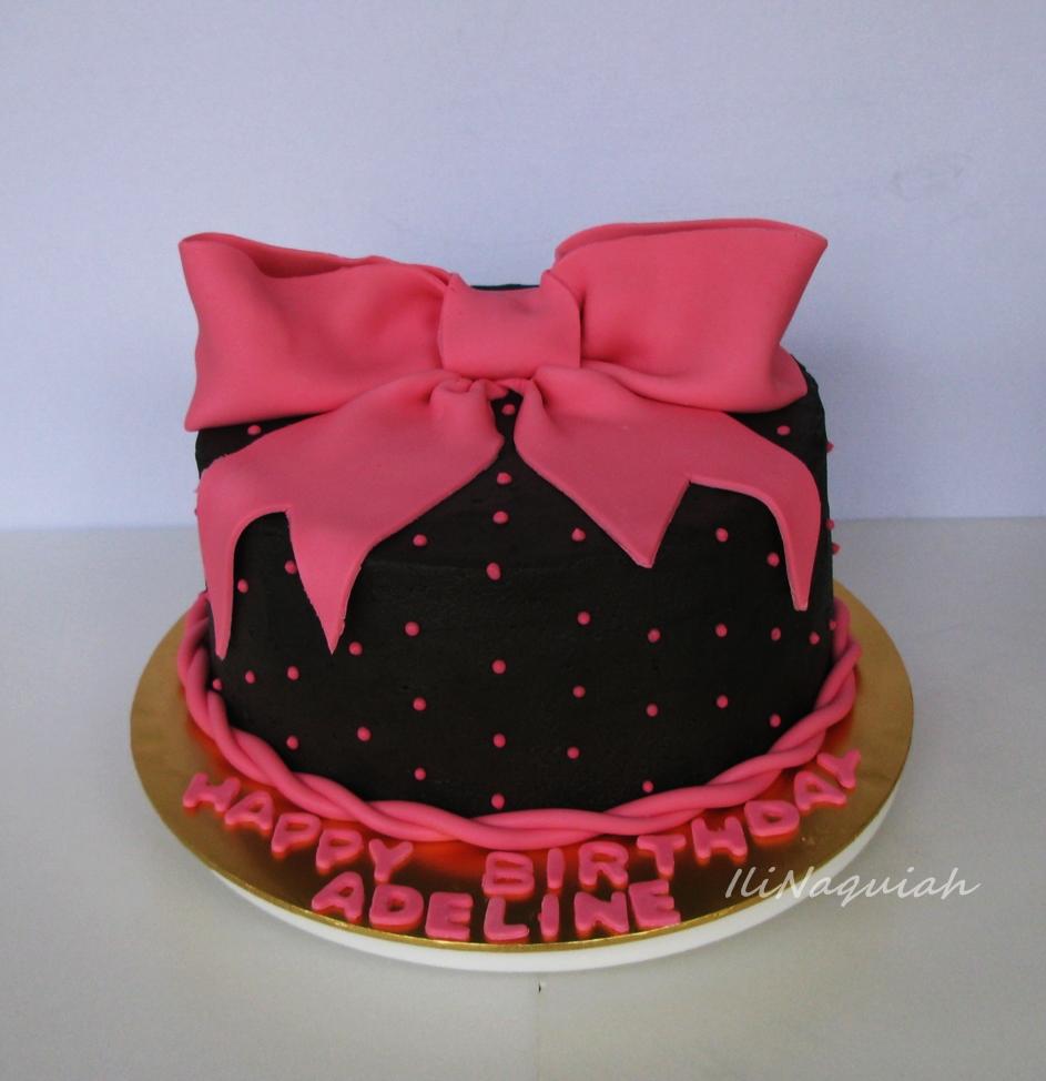 Sugar & Vanilla Bakery: Pink Birthday Cake