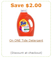 Amazon Tide coupon
