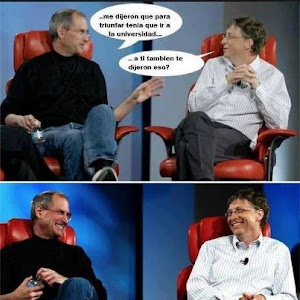 STEVEN JOBS & BILL GATES