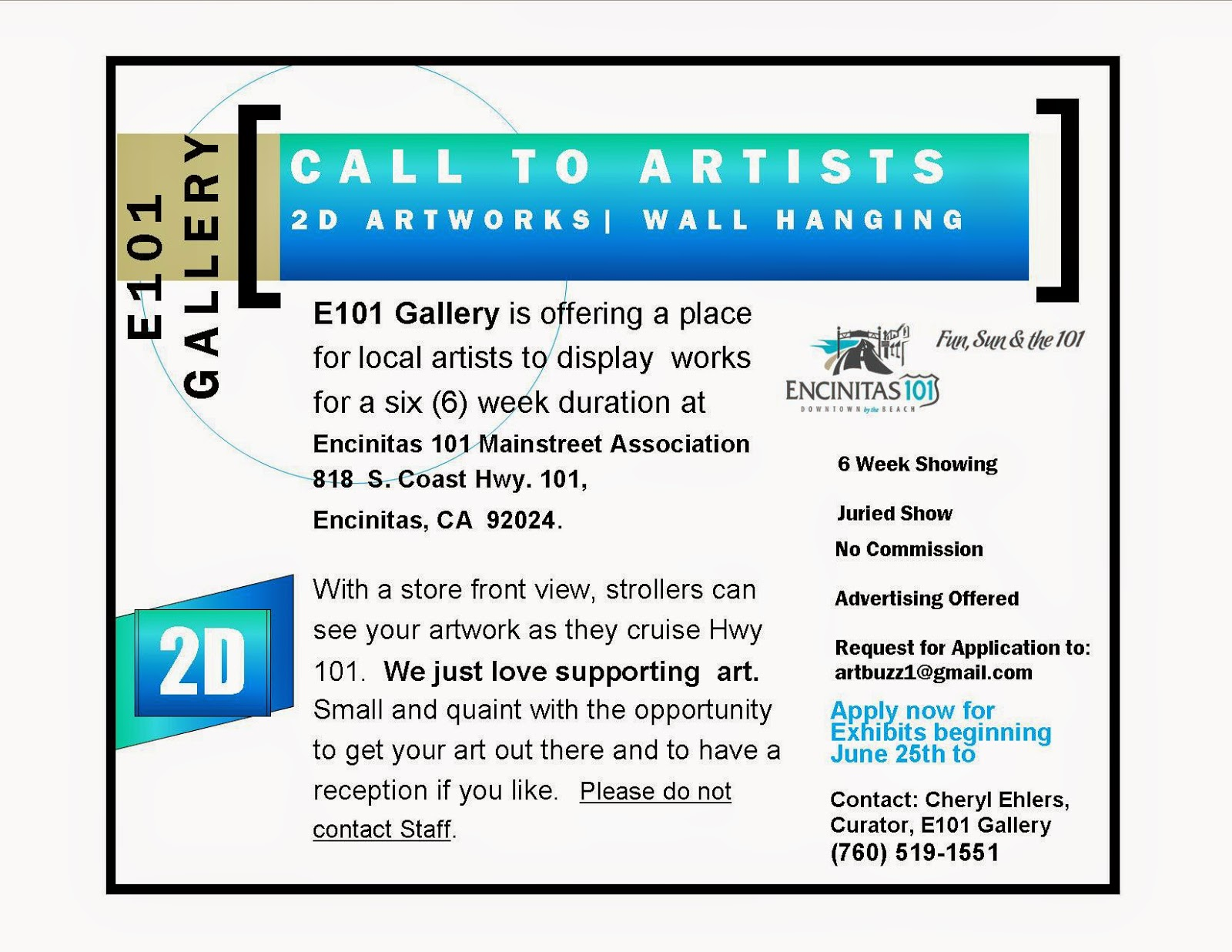 E101 Gallery Application