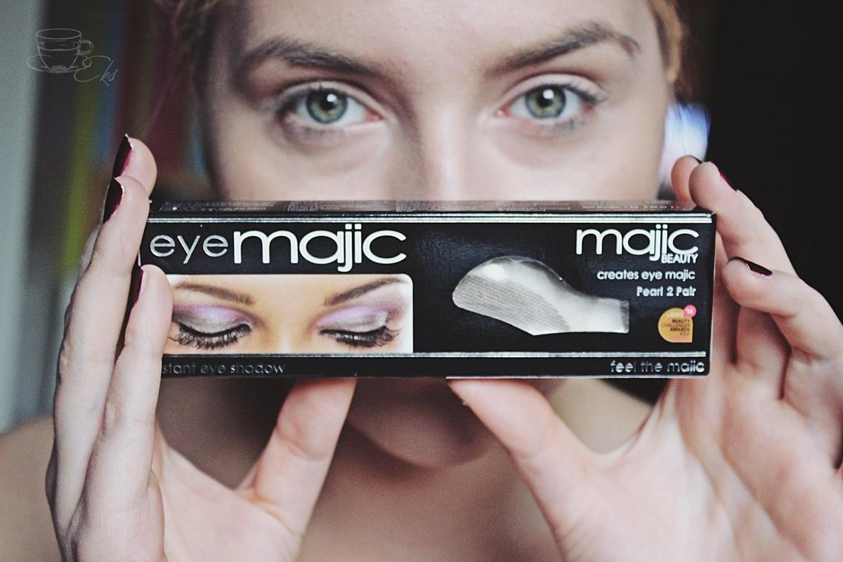 Cienie od Eye Majic - jak aplikować?