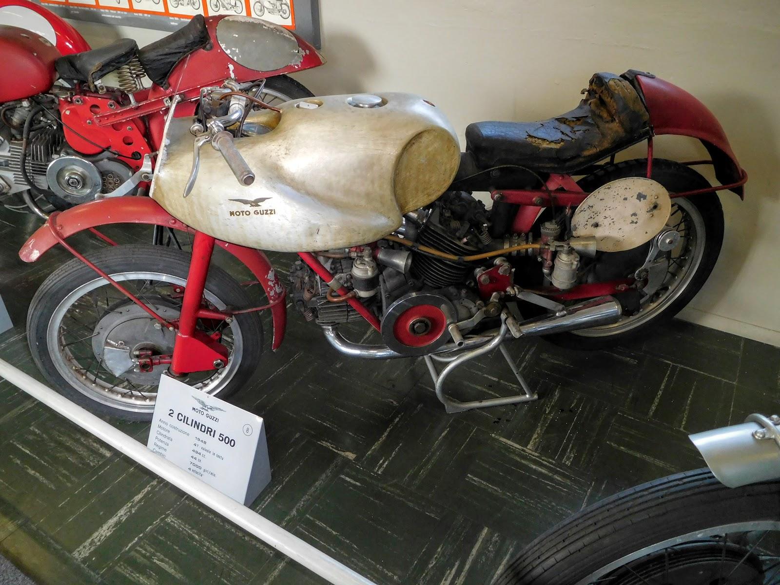Tigho NYDucati: 1948 Moto Guzzi 2 Cilindri 500
