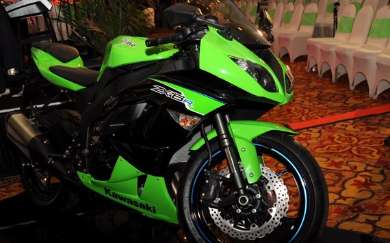 Kawasaki ZX-6R Lebih Murah Dijual 211 juta
