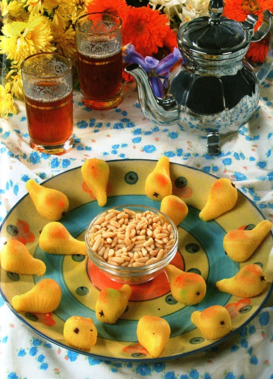 Decoration De Cuisine Algerienne : La cuisine algérienne gateau poire aux amandes