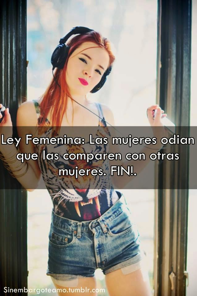 actitud mujer fin