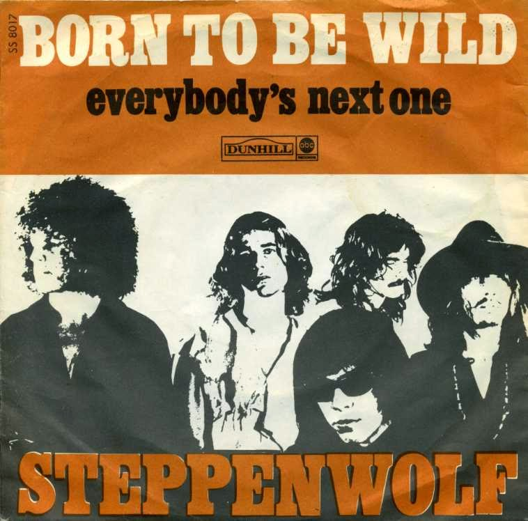 Cover, born to be wild, Steppenwolf