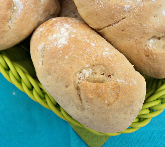 receta casera bollos, preñaos, pan, chorizo