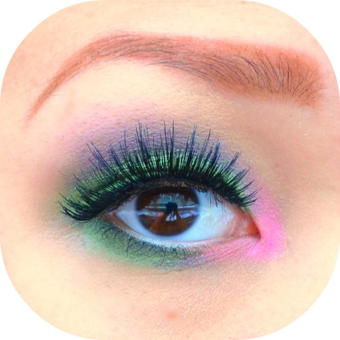 Callmechim Makeup Tutorial How To Wear Green Purple And Pink Eye