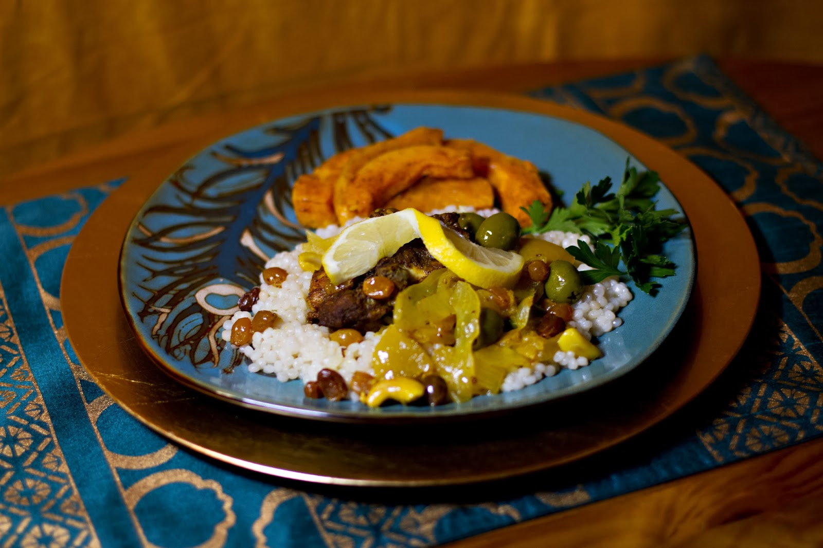 37 Cooks: Slow Cooker Moroccan Chicken With Preserved Lemons & Olives