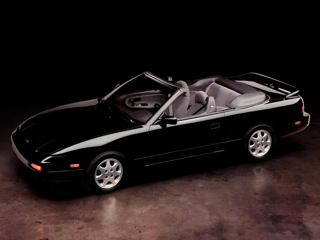 Nissan 240SX, kabriolet, S13, sportowe samochody, japońskie