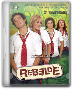 Download Novela Rebeldes 2ª Temporada Completa - DVD-R Dual Áudio