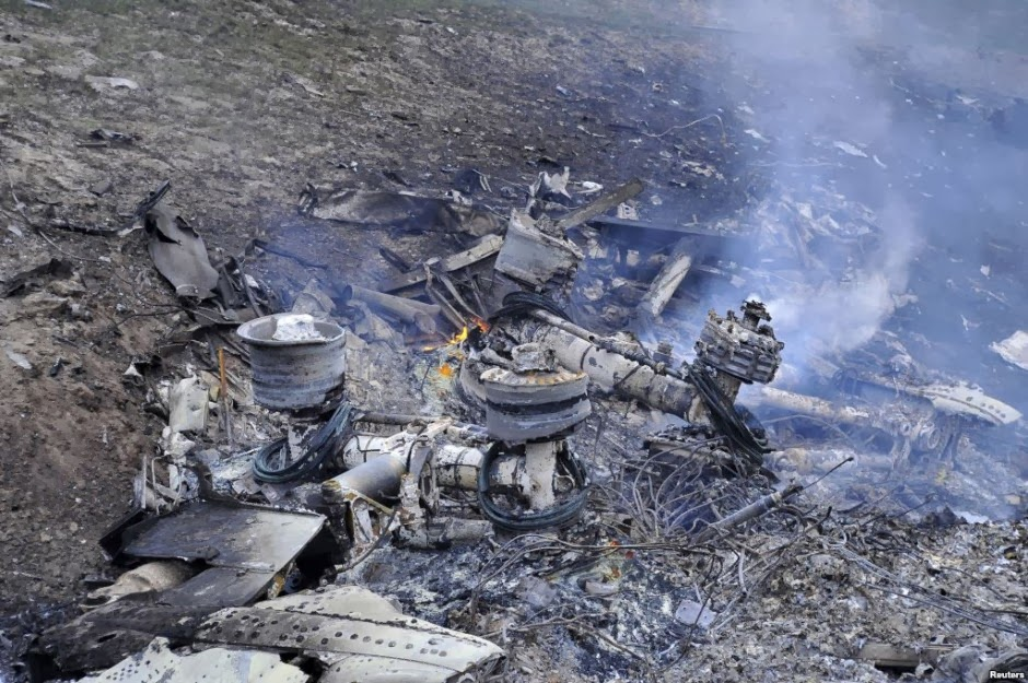 airplane crash site