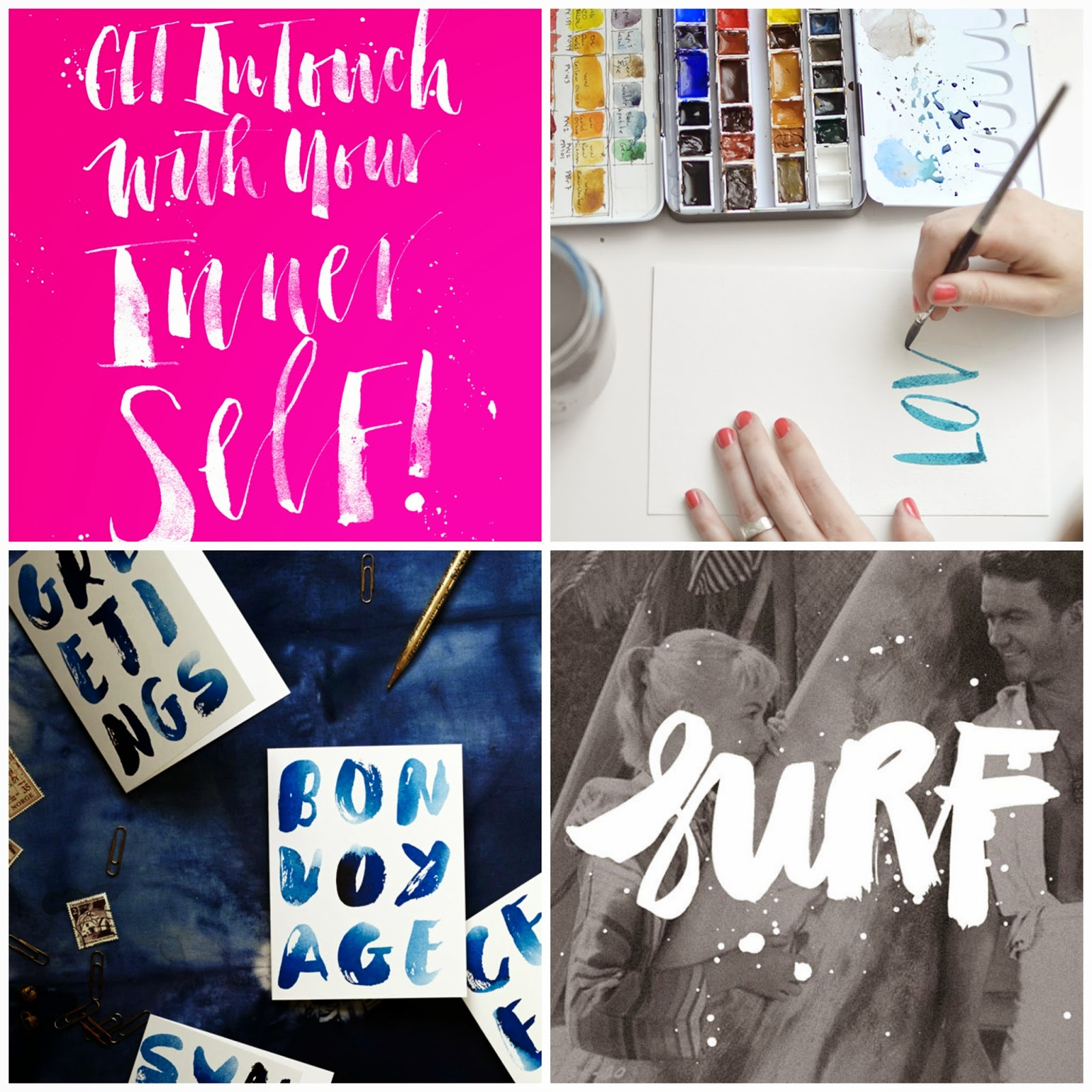 craft trend to watch brush lettering