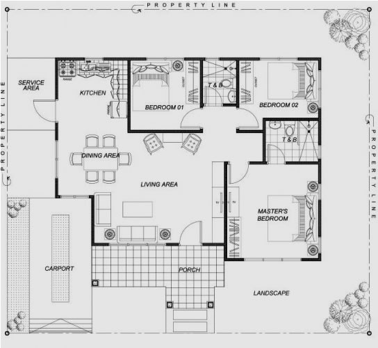Bungalow house in buyong maribago lapu lapu city cebu for City lot house plans